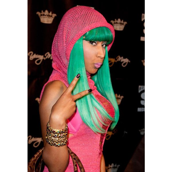 An image of Nicki Minaj ❤ liked on Polyvore featuring nicki minaj, nicki and nicki manaj