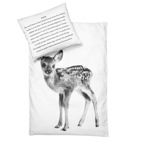 Baby dekbedovertrek dekbedovertrek hert By Nord koop je bij MIKKILI online design