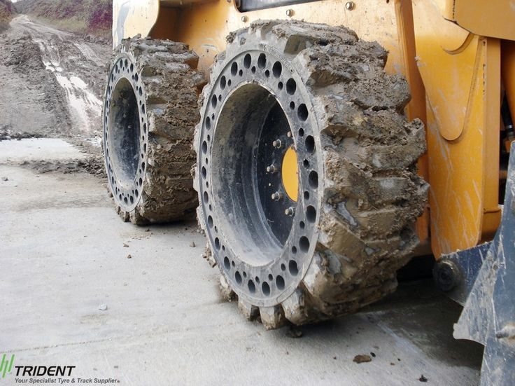 Solid Skid-Steer Tire are Best Suited For....