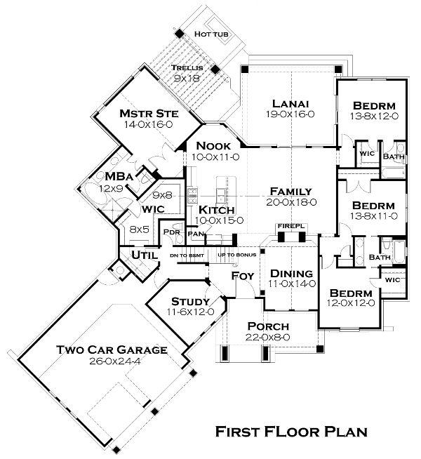 32 best House plans under 2500 sq ft images on Pinterest