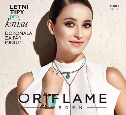 Prodej – Mé stránky | Oriflame Cosmetics Katalog číslo 9. Objednávky přijímám do 1. července 2016