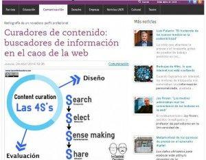 Buscadores de información en el caos de la web, los content curators en revista UNIR