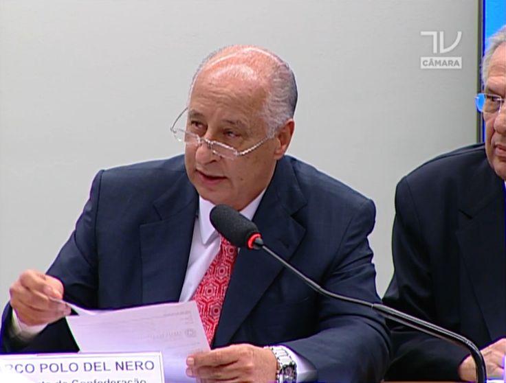 """Pressionado na Câmara, Del Nero avisa: """"Vou até o fim do meu mandato"""" #globoesporte"""