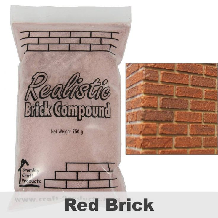 Realistic Brick Compound - Red Brick - Original formula