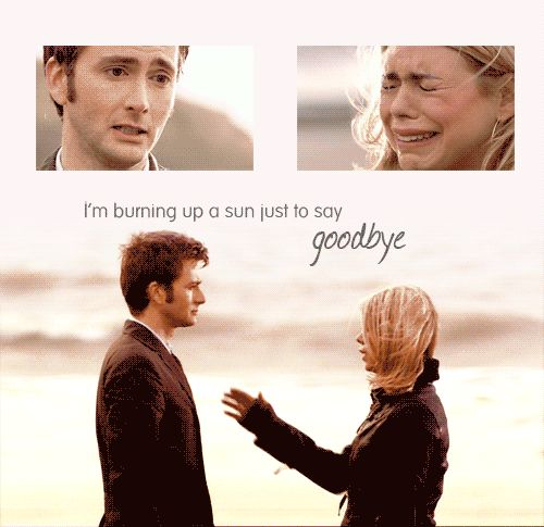 Doctor Who Doomsday Rose Doctor | 30 Days of Doctor/RoseDay 11: Heartbreaking MomentDoes it need saying?