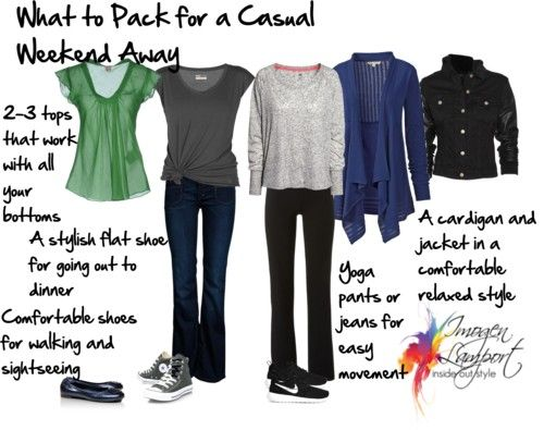 what to pack for a casual weekend away http://www.insideoutstyleblog.com/2014/04/what-to-pack-for-a-casual-weekend-away.html