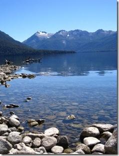 Lake region in Argentina