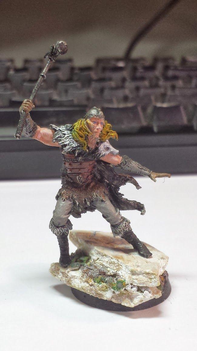 Jade Gaming News: Elijah's Player Character Barbarian