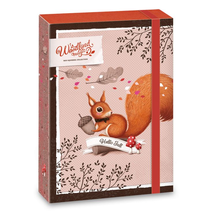Woodland Magic füzetbox A/5