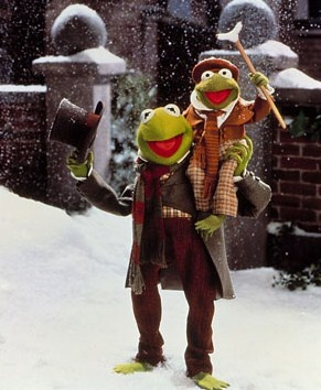 The Muppet Christmas Carol!  Probably my favorite Christmas movie!