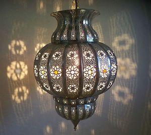 ... Lustre-plafonnier-marocain-fer-forge-lampe-applique-lanterne-