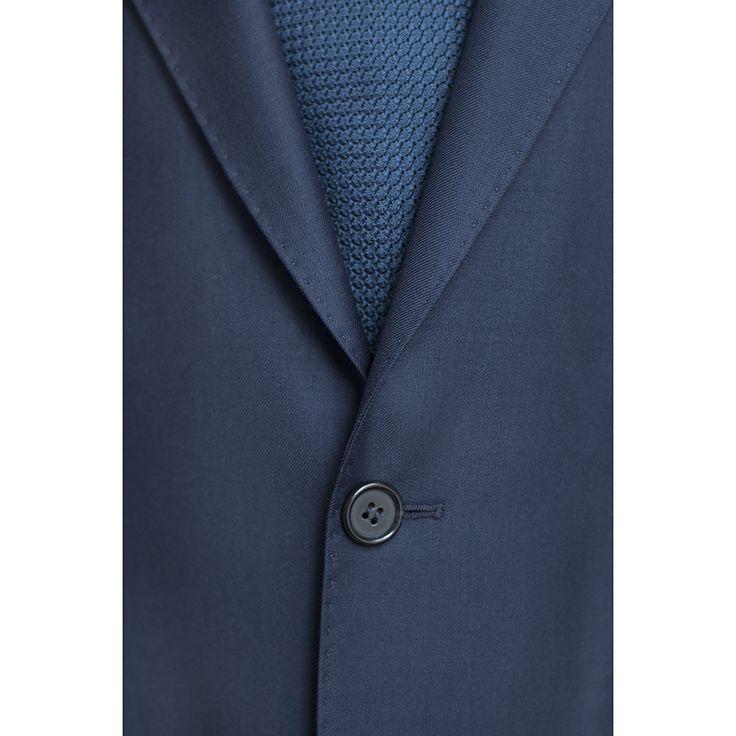 MILER Suit: upper button