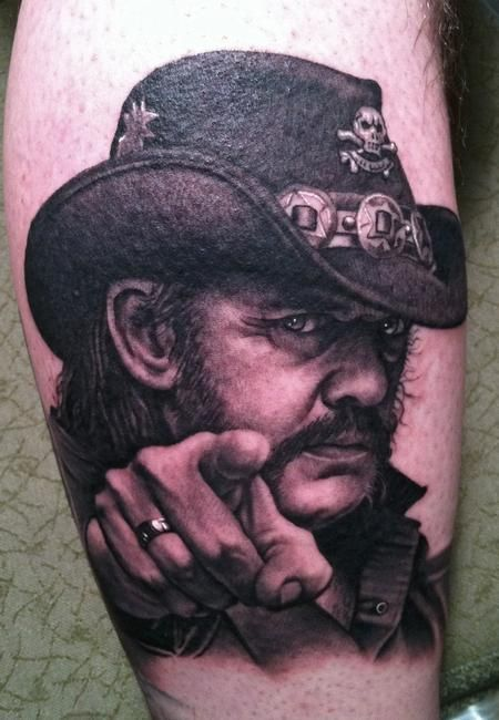 Bob Tyrrell - I want this guy to do a tattoo for me.