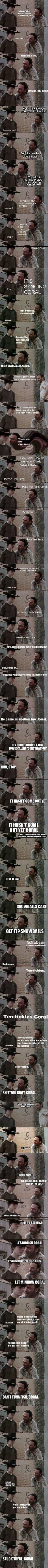 Most Terrible Rick Grimes Dad Jokes Ever funny memes tv meme tv shows funny pictures the walking dead humot funny images walking dead