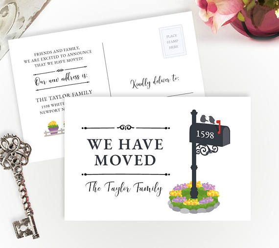 The 25+ best Change of address cards ideas on Pinterest We ve - free change of address form