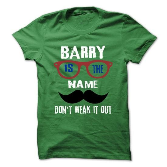 BARRY Is The Name - 999 Cool Name Shirt ! - #trendy tee #tshirt decorating. HURRY => https://www.sunfrog.com/Outdoor/BARRY-Is-The-Name--999-Cool-Name-Shirt-.html?68278