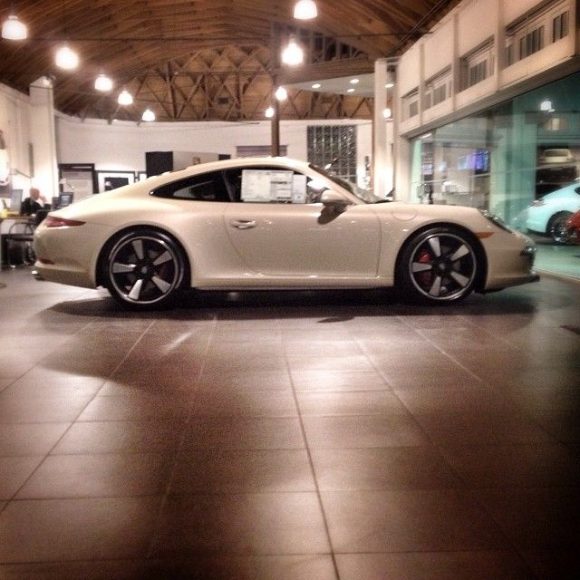 geyser grey on the 50th anniversary edition 911 porsche