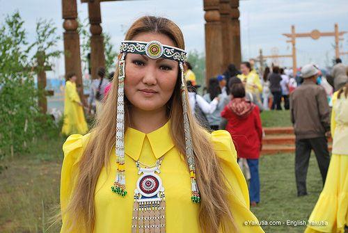 Yakut woman in Russia