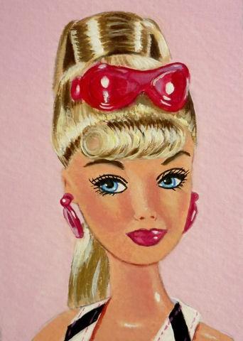 Julies retro barbie