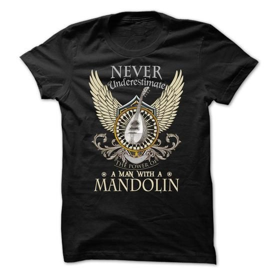 Never Underestimate A Man With A Mandolin - #gift ideas #boyfriend gift. LIMITED TIME => https://www.sunfrog.com/LifeStyle/Never-Underestimate-A-Man-With-A-Mandolin.html?68278
