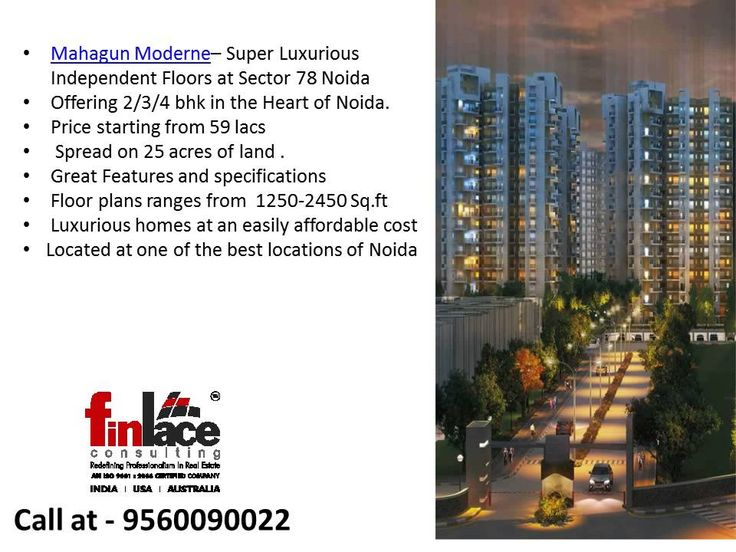 Mahagun Moderne Noida 9560090022 | Best Deals in Mahagun projects