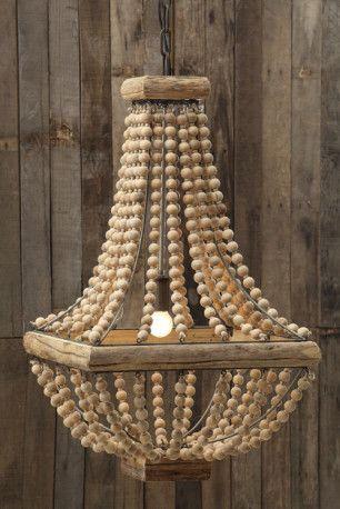 Best 25 Wood bead chandelier ideas on Pinterest Bead chandelier