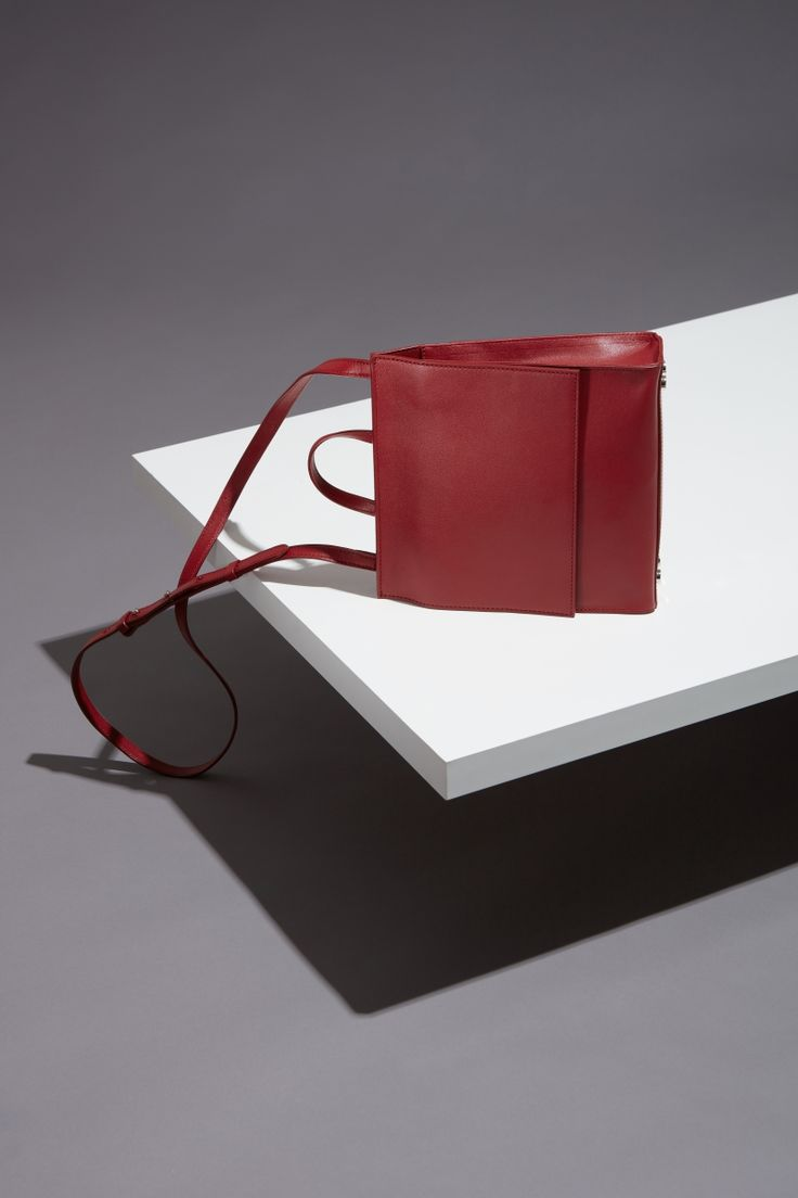 16FW LUCCICA_NO 52 brick red #ba g #slopebag #leather #LLG #largeleathergoods #leatherbag #16FW