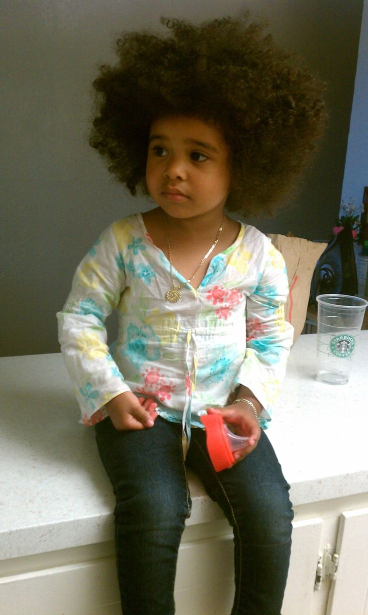 Baby Fro perfection!