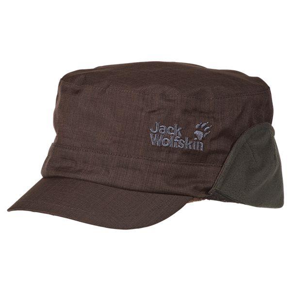 Waterproof peaked cap with wide ear flap - Headgear - Accessories - Men - Apparel - Jack Wolfskin United Kingdom