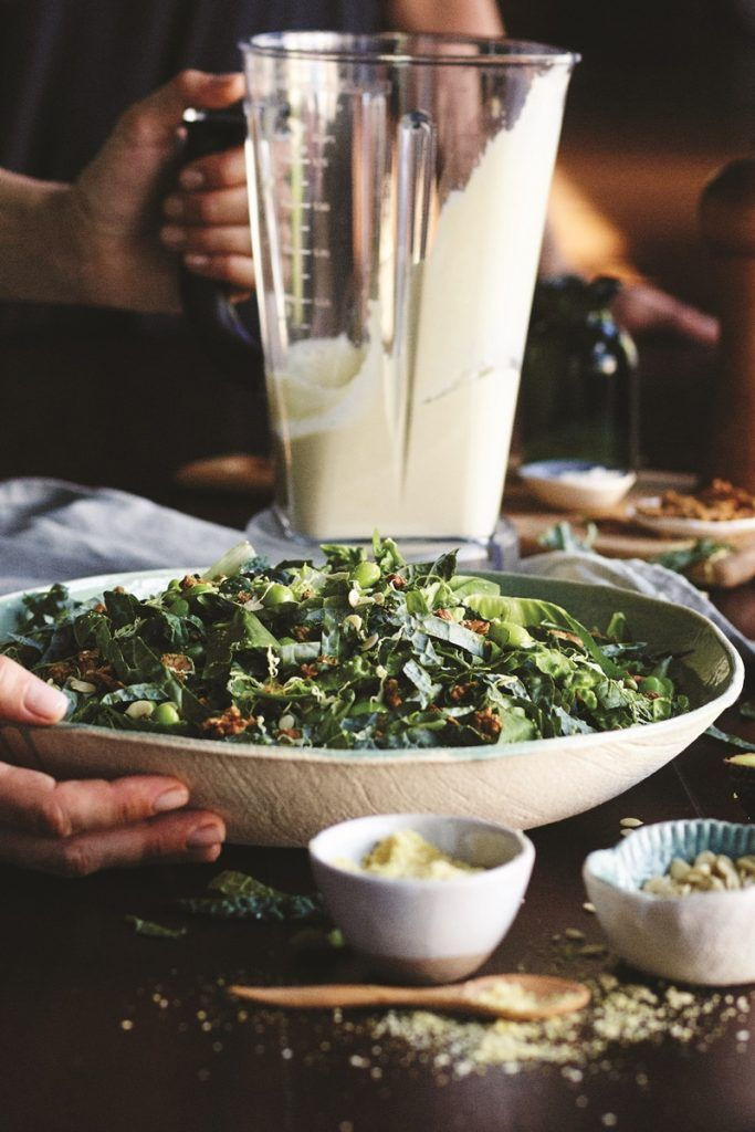 11 best vegan mayo images on pinterest vegan mayo vegan vegan kale caesar salad recipe with creamy dairy free dressing seed cheeze and tempeh fandeluxe Gallery