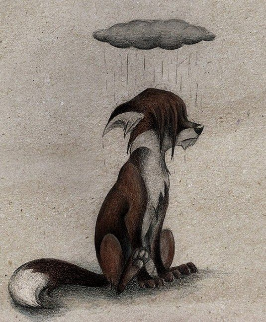 лилиана слегла картинка депрессивного лиса простую открытку может