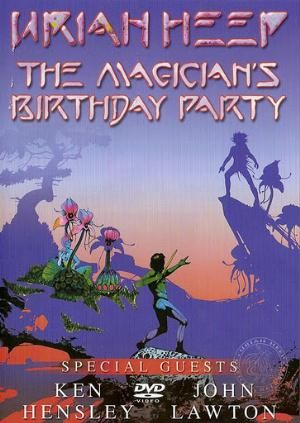 URIAH HEEP - The Magician's Birthday Party (DVD) (2002)