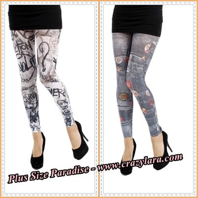 really plus size up to 152cm hips webshop: http://crazylara.com/en/plussizeleggings