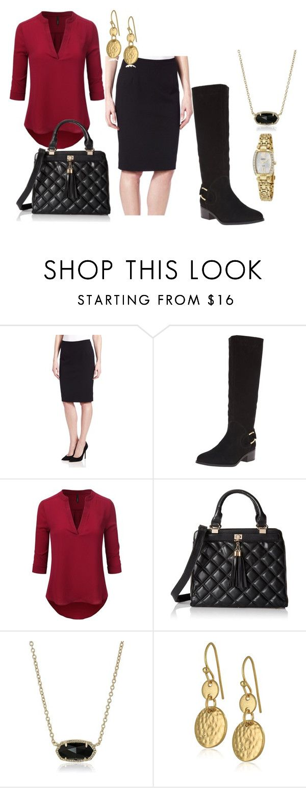 """Amazon - Boots for Work"" by herstyleandgrace ❤ liked on Polyvore featuring Corso Como, Doublju, Vintage America and Seiko Watches"
