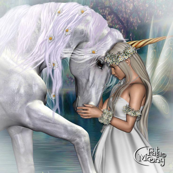 White Fairy By FataMoony.