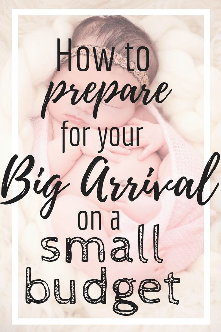 How to prepare for baby on a small budget. It's totally possible with some of these money saving tips!