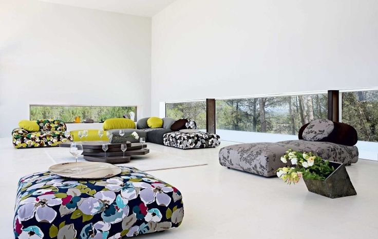 Living Room Inspiration 120 Modern Sofas By Roche Bobois: Amazing Sofas By Roche Bobois
