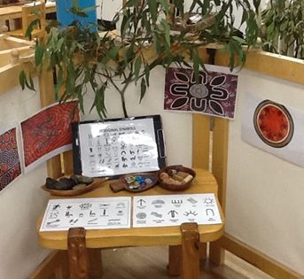 NAIDOC week activities at Explorers Early Learning