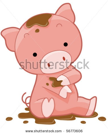 63 best images about interior for nursery on pinterest - Pig wallpaper cartoon pig ...