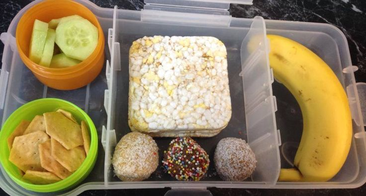 Simple lunch idea using Nude Food Mover lunch box