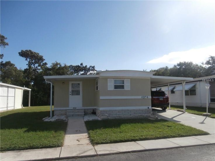 NEW FOR SALE: 4924 SHERRELL DRIVE, Holiday, FL 34690 $38,900 - Many new upgrades, in this 2 bedroom split plan single wide - new thermo pane windows throughout most of the home. Newer water heater with own electric box. New shower in 2017, new electrical box, inside laundry room with its own air conditioner and heat combination, Home back up to wild life area. Active 55+ community with year round heated pool. — My Florida Regional MLS #: W7634498