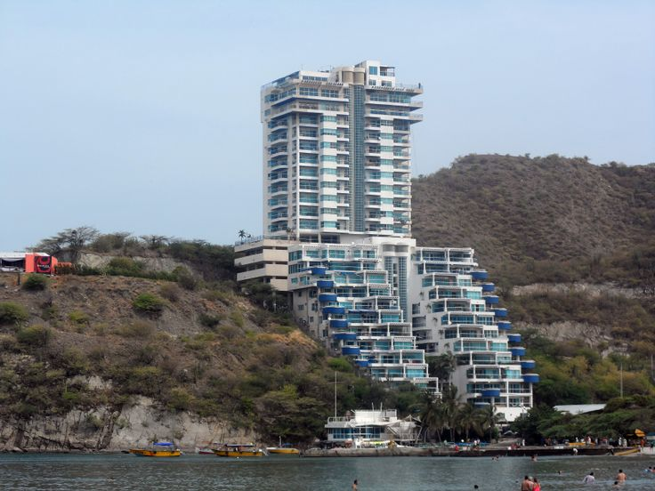 Playa El Rodadero. Santa Marta