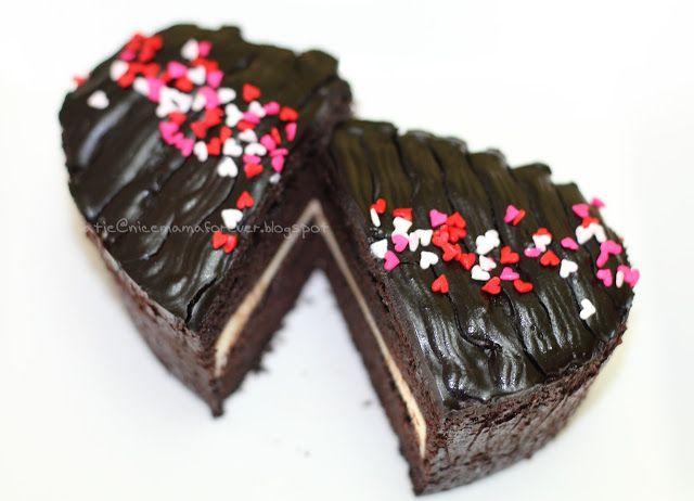 StoriesofLife..: Kek Coklat Kukus Lapis Cheese versi mini hadiah hari guru