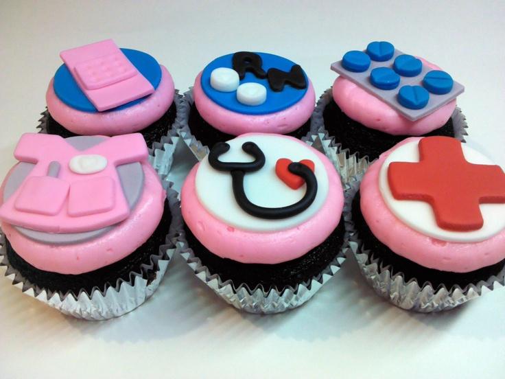 Nursing Themed Cookie Cake