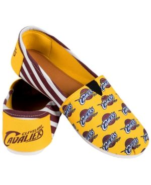 Forever Collectibles Cleveland Cavaliers Canvas Logo Shoe - Red L/XL
