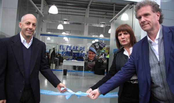 Ducoté y Bullrich inauguraron el nuevo Centro de Operaciones de Pilar