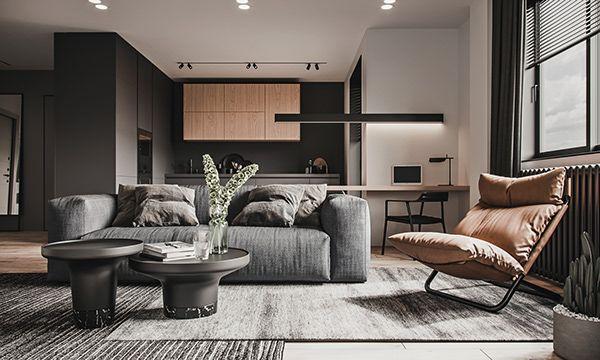 Urban Flat Dezign Ark Beta Apartment Interior Apartment Design Flat Interior