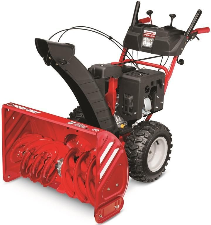 Troy Bilt 31ah55p5766 Storm Electric Start Gasoline Snow Thrower Red Snow Blower Snow Removal Snow Blowers