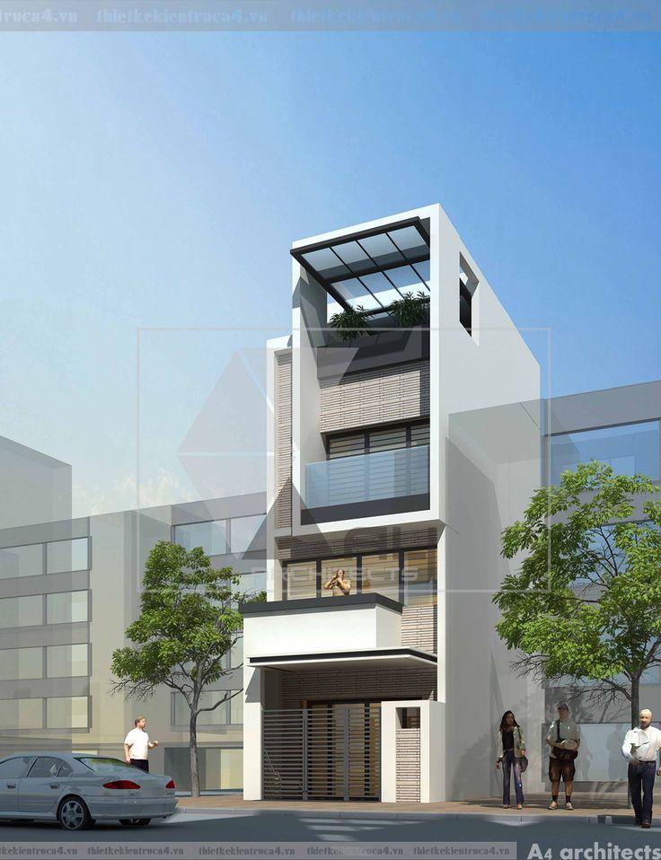 Tư vấn thiết kế nhà lô phố - Anh Bình Phương án thiết kế kiến trúc mà A4 đưa ra…