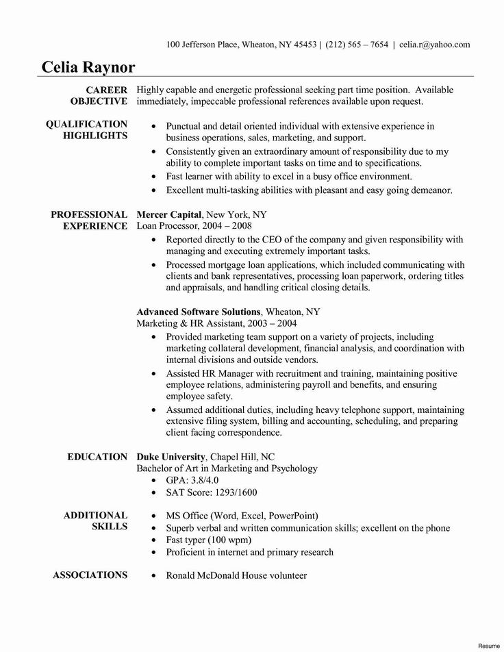 Skills for Accounting Resume Unique Accounting Student
